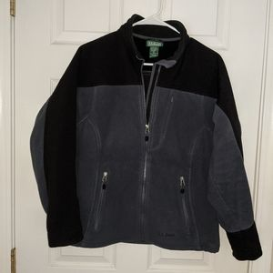 L.L.Bean women's fleece/nylon jacket